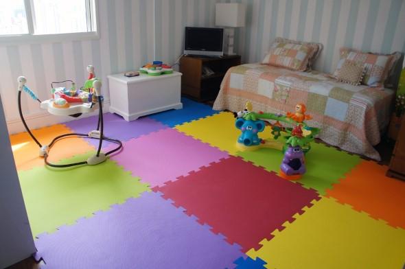 Piso emborrachado para quarto infantil 001