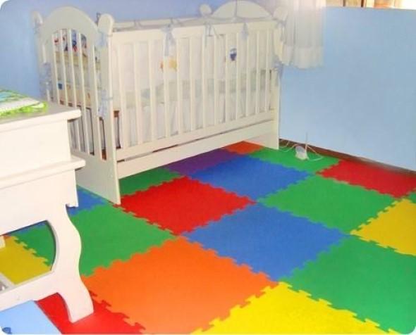 Piso emborrachado para quarto infantil 004