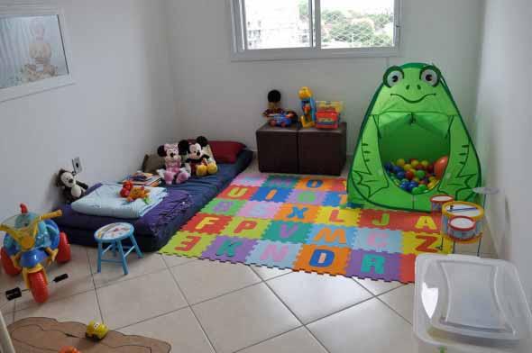 Piso emborrachado para quarto infantil 010