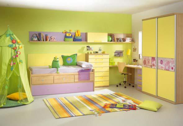 Piso emborrachado para quarto infantil 012