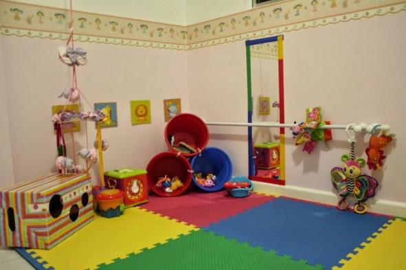 Piso emborrachado para quarto infantil 017