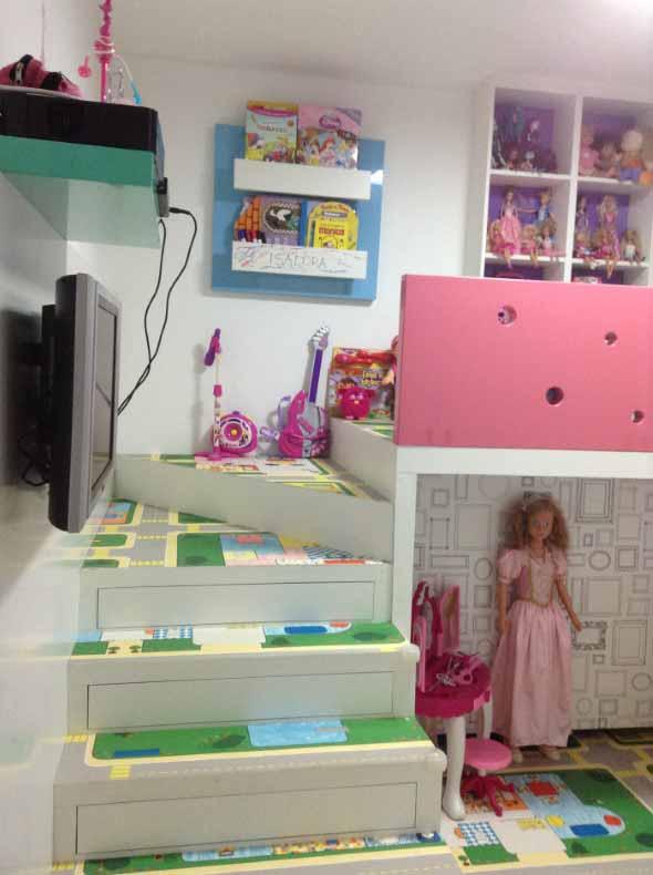 Piso emborrachado para quarto infantil 018