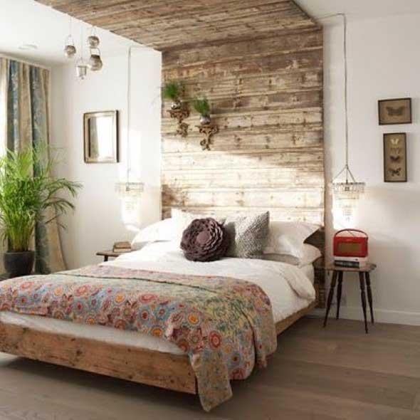 Decoração rústica nos quartos  Confira estas dicas
