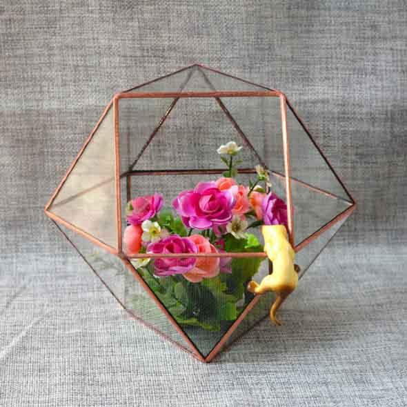 Decore sua casa com objetos geométricos 001