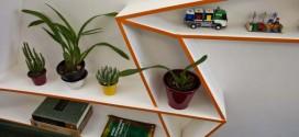 Objetos geométricos na decoração