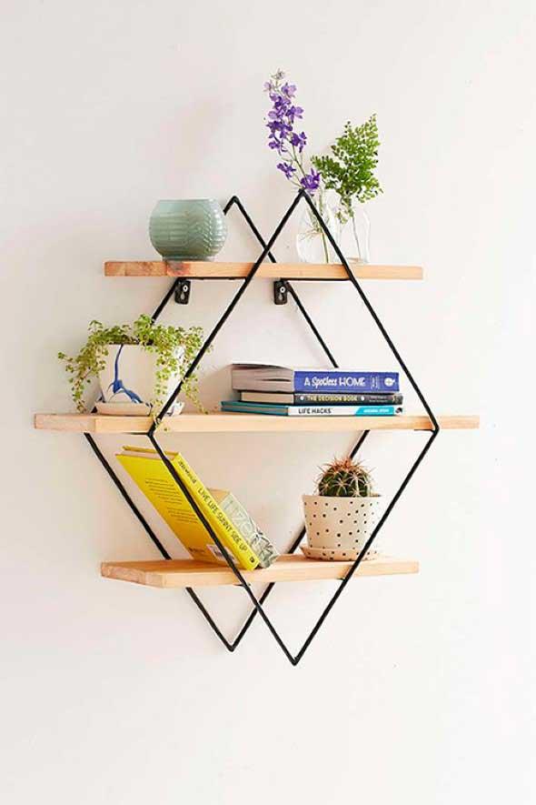 Decore sua casa com objetos geométricos 008