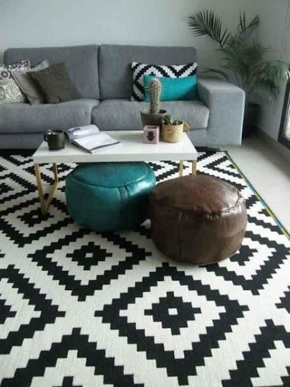 Decore sua casa com objetos geométricos 009