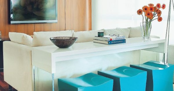 Decore sua casa com objetos geométricos 012