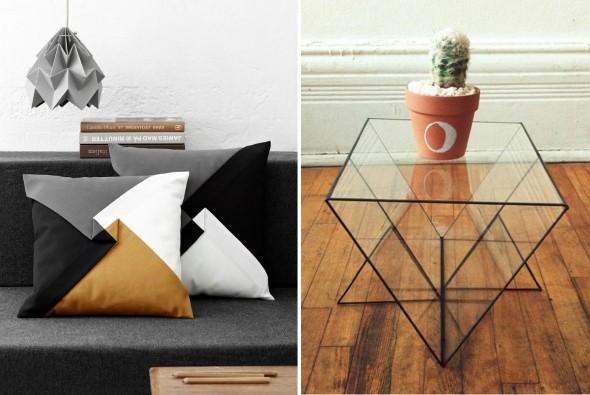 Decore sua casa com objetos geométricos 014