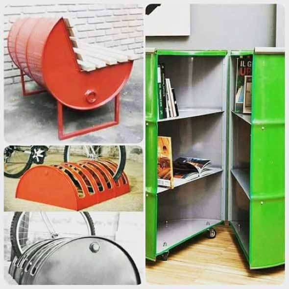 Mobiliário criativo e artesanal 005
