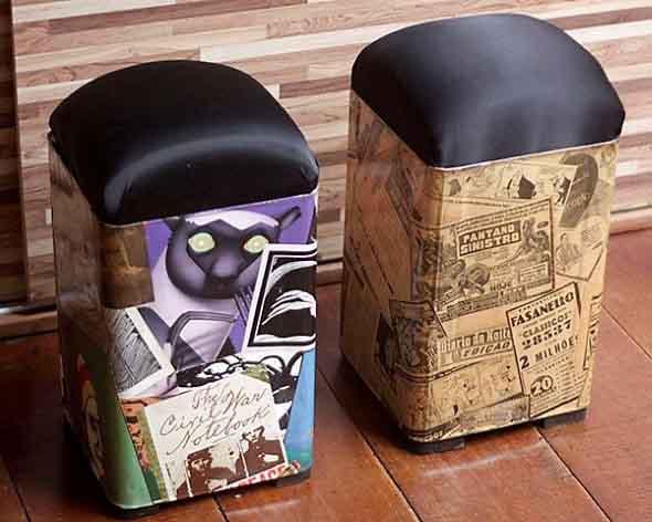 Mobiliário criativo e artesanal 012