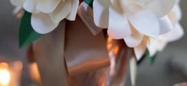 Velas e taças para decorar mesa de jantar