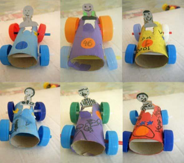 Brinquedos de material reciclado para o Dia das Crianças 006