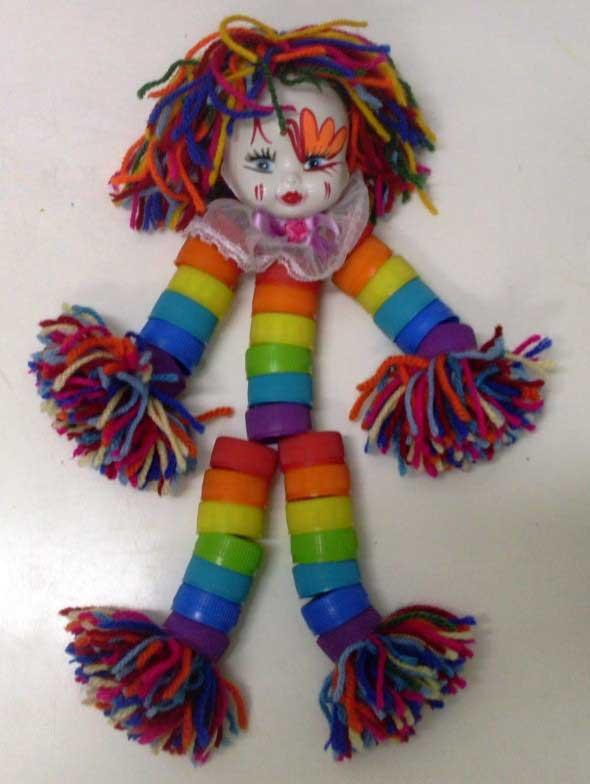 Brinquedos de material reciclado para o Dia das Crianças 016