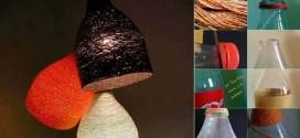 DIY – Como fazer uma luminária de barbante