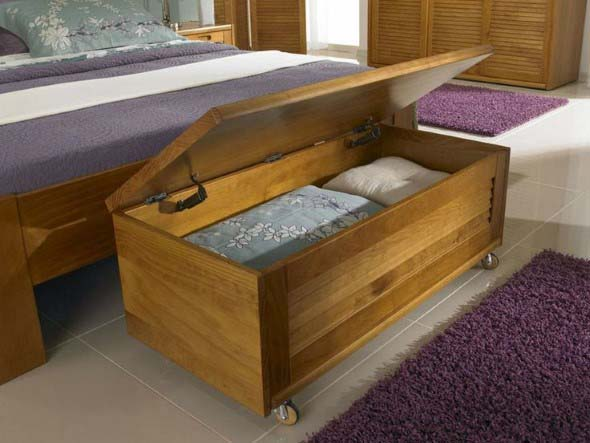 Decorar quartos com baús 012