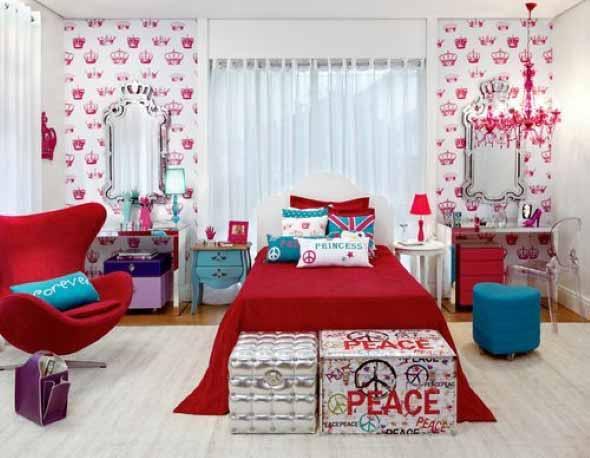 Decorar quartos com baús 017