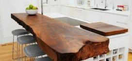 Dicas para usar madeira na decoração da cozinha