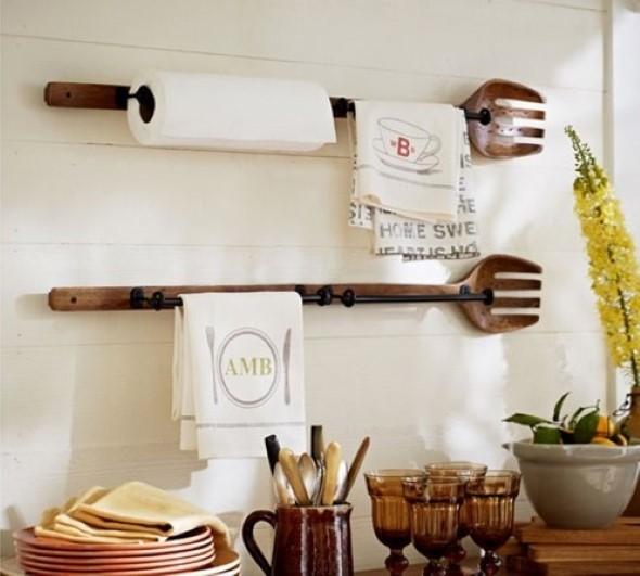 Usando madeira na decoração da cozinha 018
