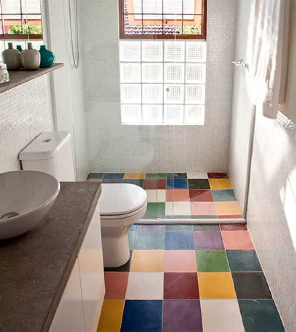 deixar o banheiro com mais cor 001