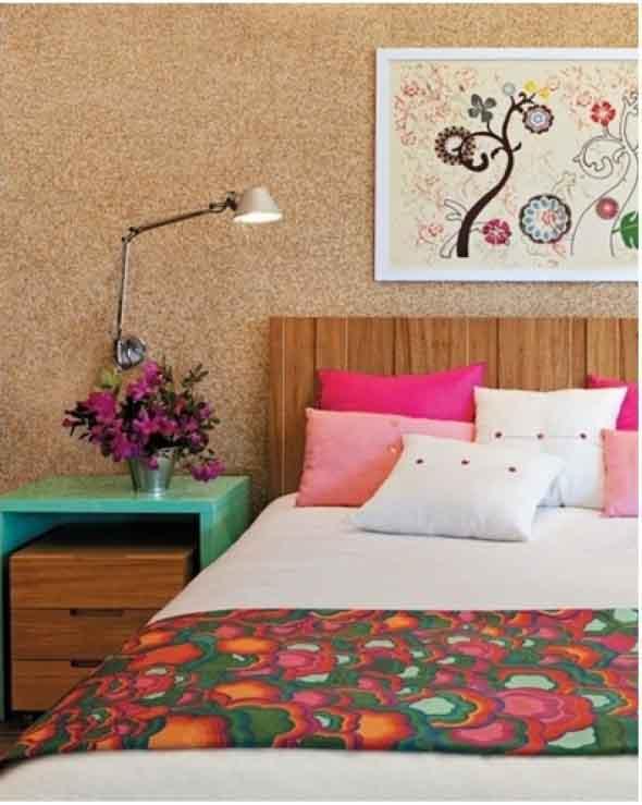 Como decorar paredes e pisos com cortiça 013