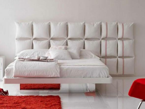 Diy cabeceiras de cama para fazer em casa - Cojines para cabeceros ...