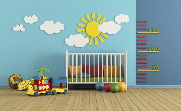 Decoração em EVA para o quarto do bebê 003