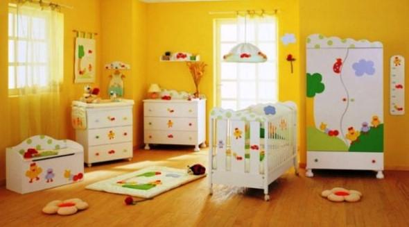 Decoração em EVA para o quarto do bebê 004