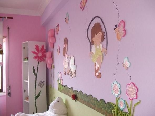 Decoração em EVA para o quarto do bebê 015