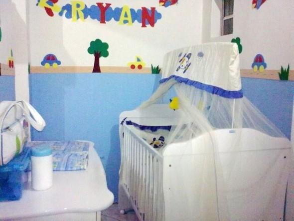 Decoração em EVA para o quarto do bebê 016