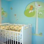 Decoração em EVA para o quarto do bebê 017