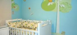 Decoração em EVA para o quarto do bebê