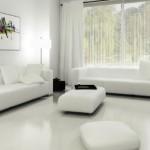 Decore toda casa na cor branca 001
