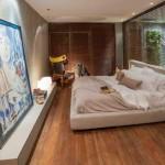 Quarto com piso de madeira 018