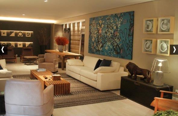Como decorar a casa com tapetes nas paredes 015