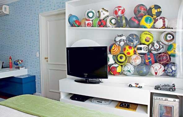 Decorar o quarto com coleções 007
