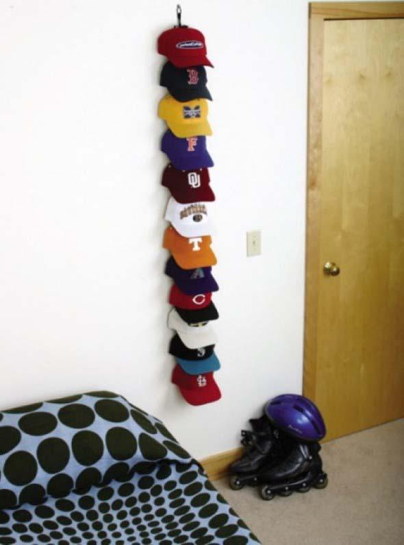 Decorar o quarto com coleções 011