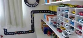 Decorar o quarto com coleções