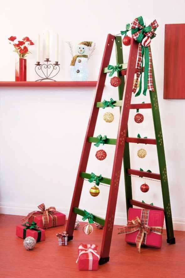 Árvores de Natal criativas 002