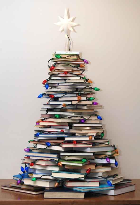 Árvores de Natal criativas 004
