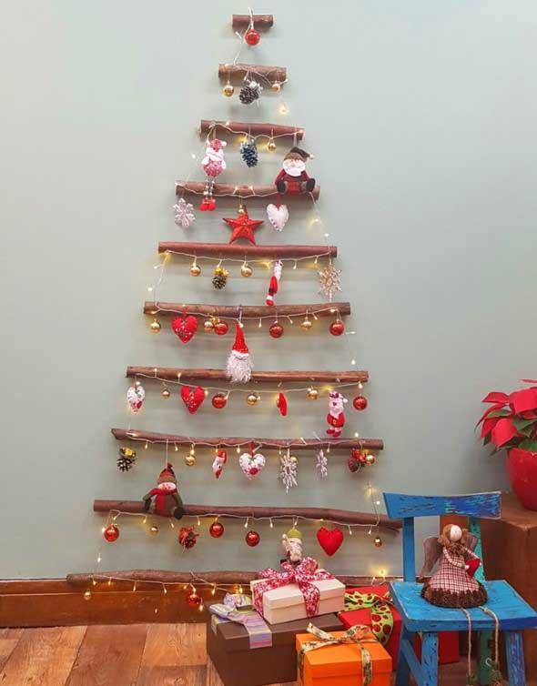 Árvores de Natal criativas 005