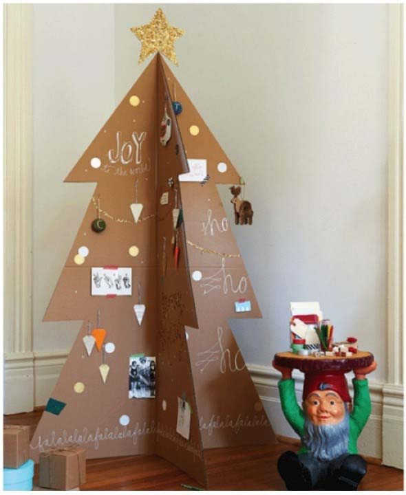Árvores de Natal criativas 009