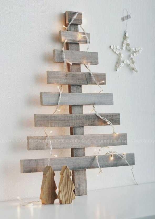 Árvores de Natal criativas 014