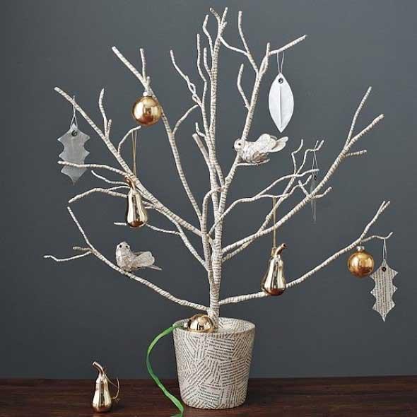 Árvores de Natal criativas 017