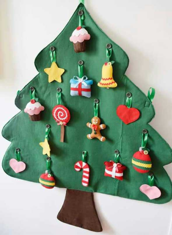 Árvores de Natal criativas 018