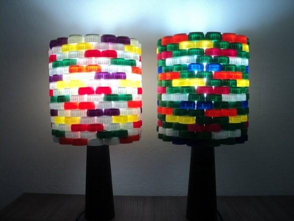 Decore sua casa com tampinhas de garrafas 003