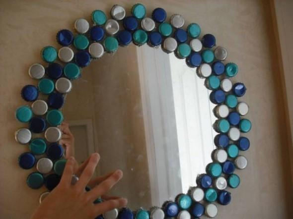 Decore sua casa com tampinhas de garrafas 009
