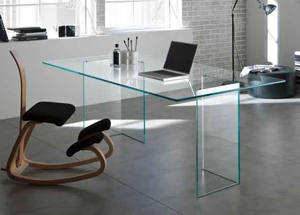 Escrivaninhas com tampo de vidro 017