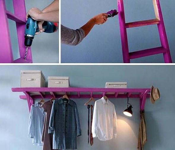 Diversos usos para escadas dentro de casa 003