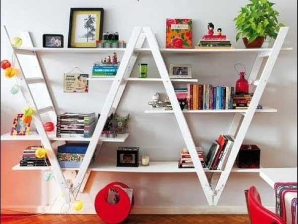 Diversos usos para escadas dentro de casa 012